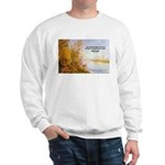 Alfred Sisley Nature Quote Sweatshirt