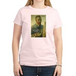 Vincent Van Gogh Quote Women's Pink T-Shirt