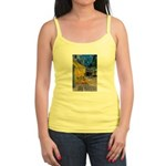 Vincent Van Gogh Color Art Jr. Spaghetti Tank