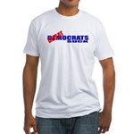 Defeatocrats Suck! Fitted T-Shirt