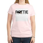 Rottie Agility Women's Pink T-Shirt