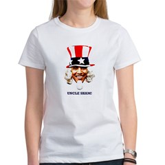 Obama Is Uncle Sham Women's T-Shirt