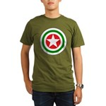 Republic of Abkhazia - Air Force Roundels - History Clothing & Gifts - Organic Dark T-shirt