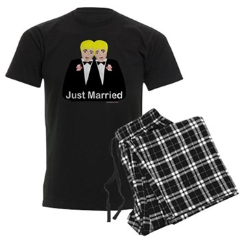 gay groom pajamas