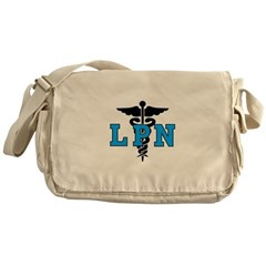 LPN Symbol Messenger Bag
