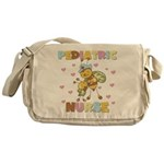 Bee Pediatric Nurse Messenger Bag