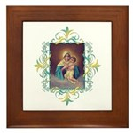 MTA - Our Lady of Schoenstatt Framed Tile