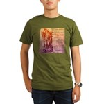 St. Michael Prayer in Latin Organic Men's T-Shirt