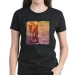 St. Michael Prayer in Latin Women's Dark T-Shirt