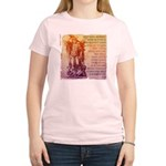 St. Michael Prayer in Latin Women's Light T-Shirt