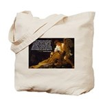 Religious Art & Beauty Tote Bag