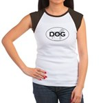 DOG Women's Cap Sleeve T-Shirt