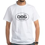 DOG GRANDPA White T-Shirt