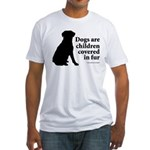 Dog Fur Children Fitted T-Shirt