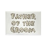 Country Father of the Groom Rectangle Magnet (10 p