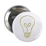 """The Pale Bulb 2.25"""" Button (100 pack)"""