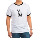 Top Dog Dalmations Ringer T