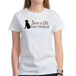 Adopt Homeless Lab Women's T-Shirt