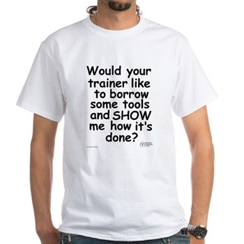 your trainer tee.
