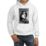 Playwright Oscar Wilde Hooded Sweatshirt