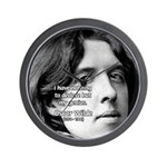 Playwright Oscar Wilde Wall Clock