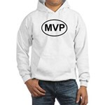 MVP Most Valuable Player Oval Hooded Sweatshirt