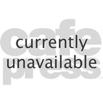 Cheer Cleerleading Cheerleader Oval Teddy Bear
