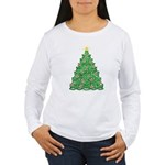 Celtic Christmas Tree Women's Long Sleeve T-Shirt