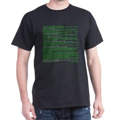 Hacker&#8217;s Manifesto T-Shirt
