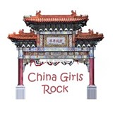 China Girls Rock Decal