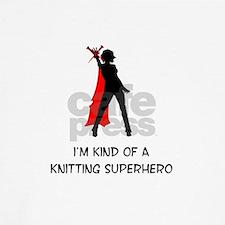 Knitting Superhero Baseball Jersey