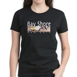 Bay Shore Women's Dark T-Shirt