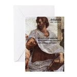 Ancient Greek Philosophy: Aristotle Greeting Cards
