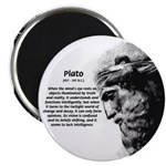 Plato Truth Reality Magnet