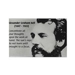 Alexander Graham Bell Rectangle Magnet (10 pack)