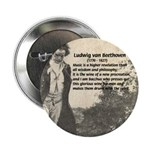 "Ludwig van Beethoven 2.25"" Button (10 pack)"