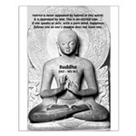 Buddhism Philosophy of Love Small Poster