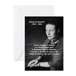 Simone De Beauvoir Greeting Cards (Pk of 10)