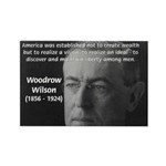 Woodrow Wilson Rectangle Magnet (10 pack)