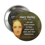 "Novelist Mary Shelley 2.25"" Button (10 pack)"