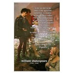 Hamlet Famous Soliloquy Large Poster
