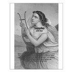 Love / Lyric Poetry: Sappho Small Poster