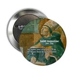 """Saint Augustine of Hippo 2.25"""" Button (100 pack)"""