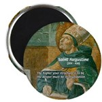 """Saint Augustine of Hippo 2.25"""" Magnet (100 pack)"""
