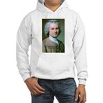 French Philosopher Rousseau Hooded Sweatshirt