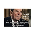 President Ronald Reagan Rectangle Magnet (100 pack