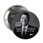 "American President Reagan 2.25"" Button (100 pack)"