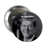 "Humour of Ronald Reagan 2.25"" Button (10 pack)"