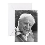 Open Society: Karl Popper Greeting Cards (Package