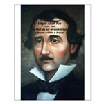 Writer Edgar Allan Poe Small Poster